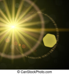 Lens Flare 02 - An HDR Lens Flare photography lighting...
