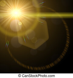 Lens Flare 03 - An HDR Lens Flare photography lighting...