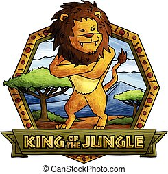 The Lion - King of the Jungle.