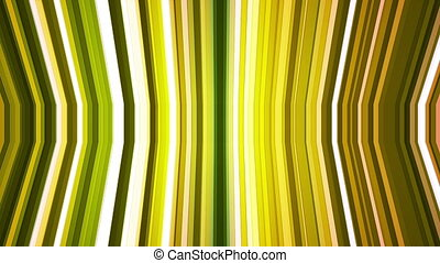 Broadcast Twinkling Vertical Bent Hi-Tech Strips, Green, Abstract, Loopable, HD