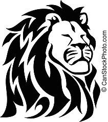Proud Lion - One Color - Black