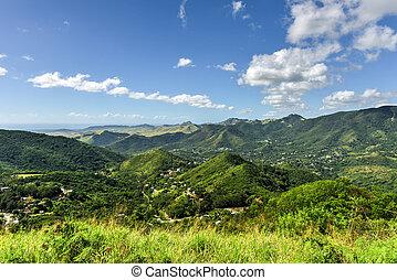 Salinas Landscape, Puerto Rico - Landscape view of Salinas...