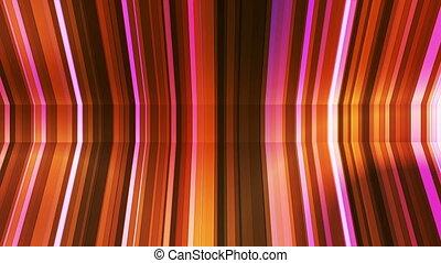 Broadcast Twinkling Vertical Bent Hi-Tech Strips, Golden,...