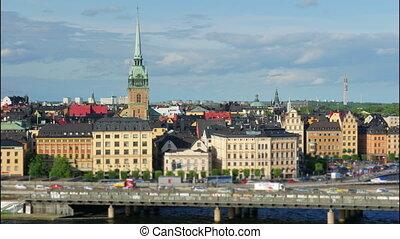 """""""Stockholm view, sweden, timelapse, 4k"""""""