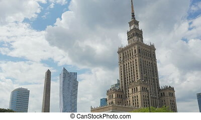 """""""warsaw, poland, culture science palace, stalin building,..."""