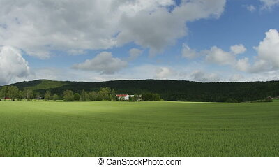"""""""norwagian village farm, near oslo, norway, timelapse, zoom..."""