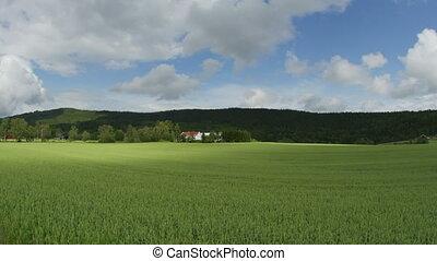 """""""norwagian village farm, near oslo, norway, timelapse, 4k"""""""