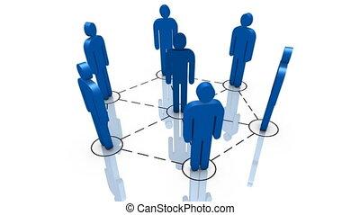 Teamwork - Global communications, teamwork, business...