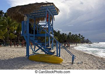 cabin in republica dominicana rock stone sky cloud -...