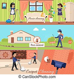 House Cleaning and Pest Control - House cleaning and pest...