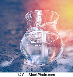 Transparent Jug with Two Liters of Drinking Water -...