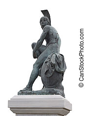 Theseus - Statue of ancient Greek semi-mythical hero Theseus...