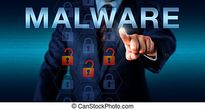 Management Consultant Touching MALWARE - Management...