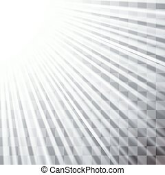 Stage Spotlight Background - Spotlights on Dark Checkered...
