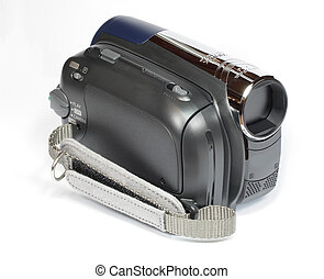 minidv video camera camcorder with strap
