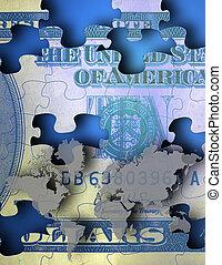 US cash Puzzle