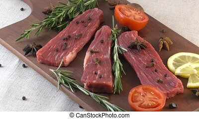 Fresh marble beef - Marbled beef in the world most famous...