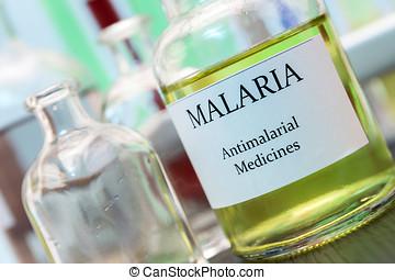 pruebas,  Malaria, investigación