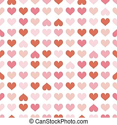 seamless background red hearts - abstract seamless...