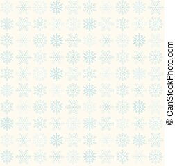 seamless snowflake background - seamless blue and white snow...