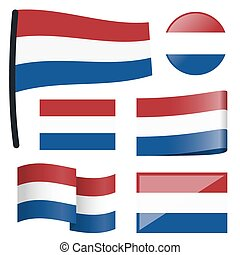 collection flags Netherlands