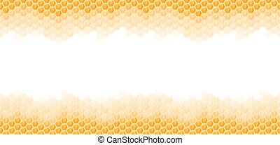 seamless honey comb background - seamless natural orange...