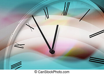 Clock Face - Close Up of Clock Face