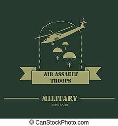 Märken, grafisk, pansrad, Logo, Medel, Mall, militär