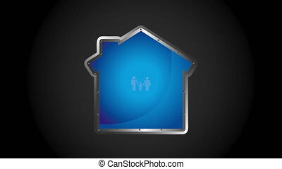 Family icon design, Video Animation