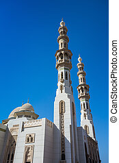 Mosque in Sharjah City, United Arab Emirates - Beautiful...
