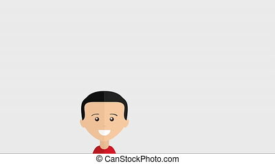 People icon design, Video Animation HD1080