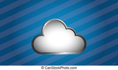 Cloud computing design, Video Animation HD1080