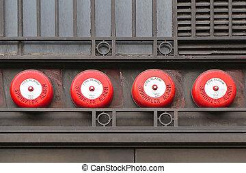 Fire Alarm - Fire Sprinkler Alarm System at Building...