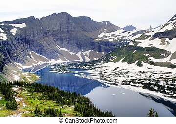 Hidden Lake - Glacier National Park - The Hidden Lake Trail...