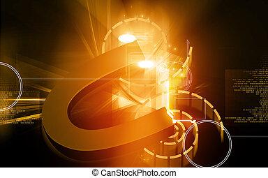 Magnet - Illustration of a u shape magnet