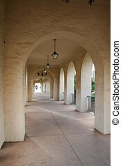 Endless Stucco Archways