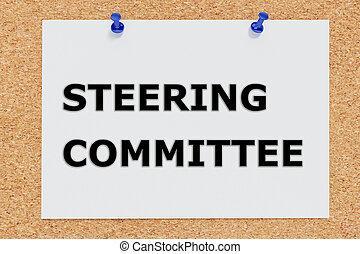 Steering Committee concept - Render illustration of Steering...