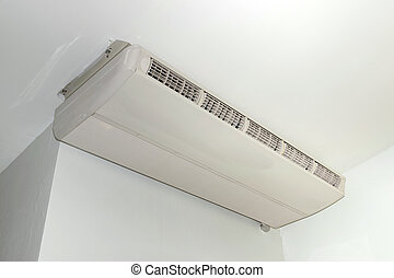 Air Conditioning hung on the ceiling