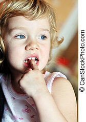 nail-biting - bad habit for children - nail-biting