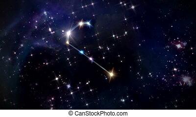 03 Gemini Horoscopes space rotation - the zodiac sign...