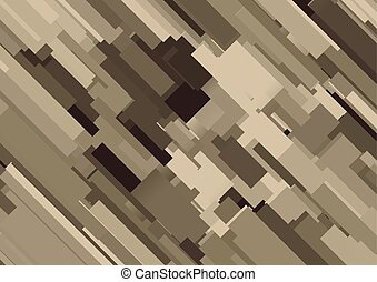 Digital camouflage pattern Vector illustration for army