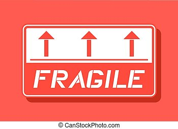 fragile symbol - Creative design of fragile symbol
