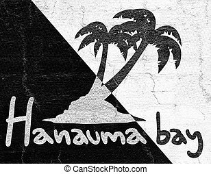 Hanauma bay beach icon - Creative design of Hanauma bay...