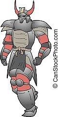 shogun walking - Creative design of shogun walking