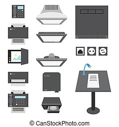Office and Presentation Icons