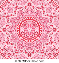 Abstract pink lace background