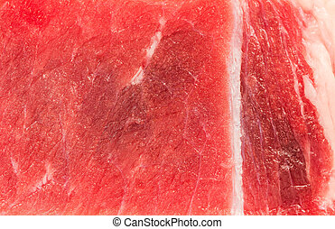 close up of beef steak texture