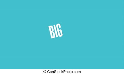 Big idea icon design, Video Animation HD1080