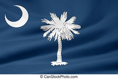 Flag of South Carolina - Very large flag of South Carolina