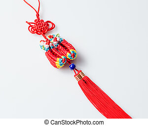 Chinese traditional shoes ornament